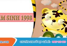 Mức độ hot của sim năm sinh 1998 với khách hàng